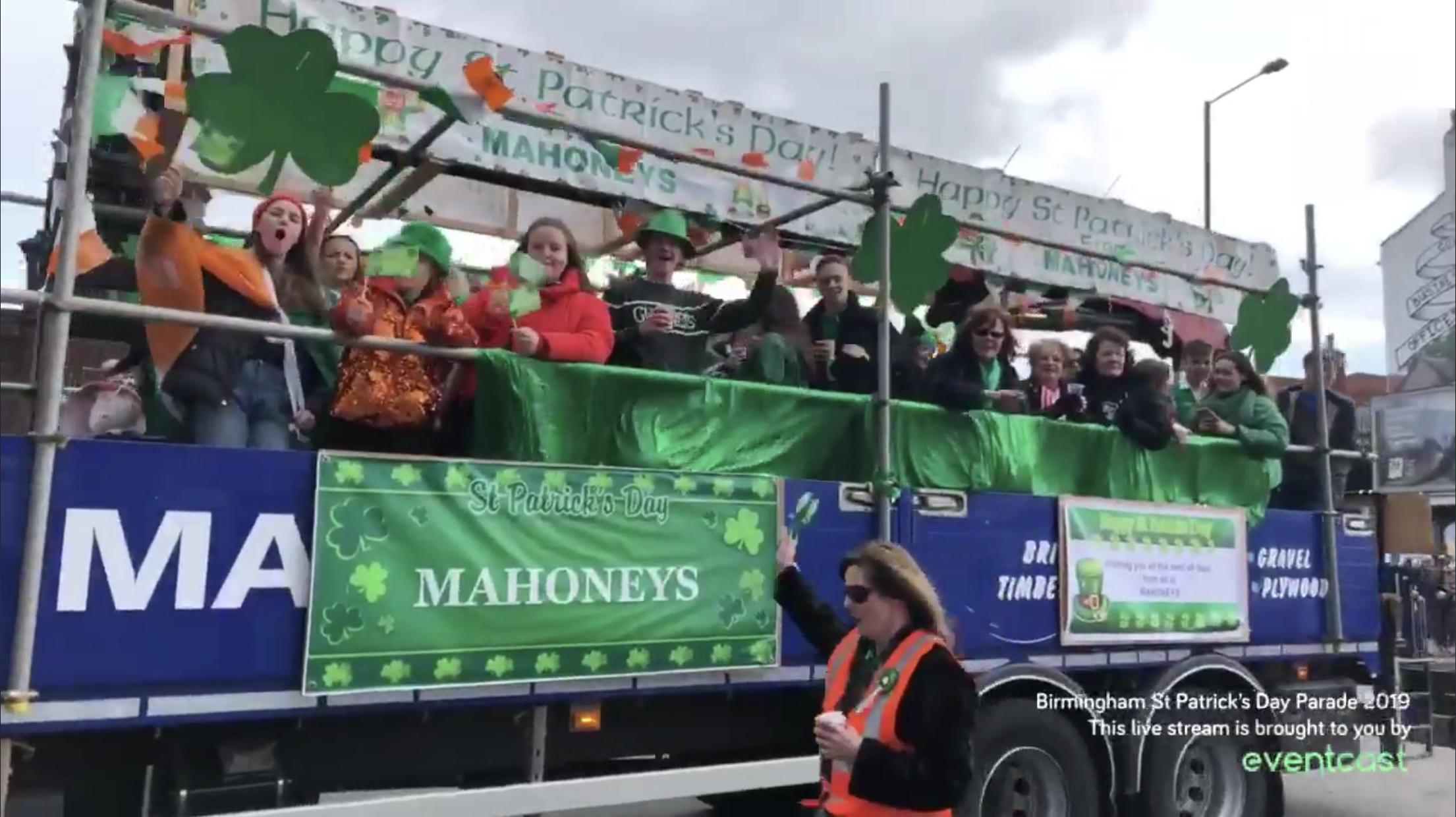 St Patrick's Day Parade 2019